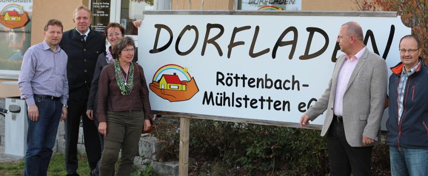 Banner Dorfladen