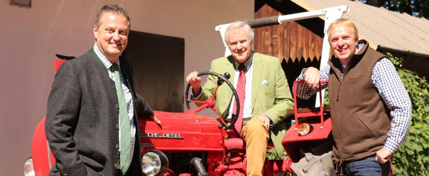 Banner Jagd-Forst-Traktor